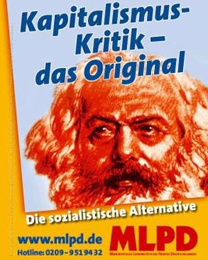 Bei der öffentlichen Debatte dürfen die echten Vertreter des Kommunismus nicht fehlen