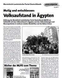 Mutig und entschlossen: Volksaufstand in Ägypten