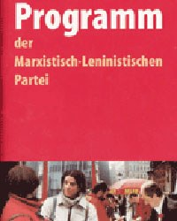Auszug aus dem Parteiprogramm der MLPD:  Die systematische Wohngebietsarbeit