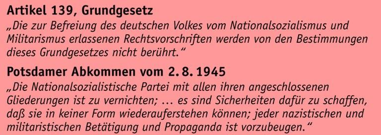 Faschistische Organisationen verbieten – sofort!