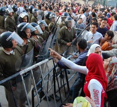 Krisenmanagement in Ägypten