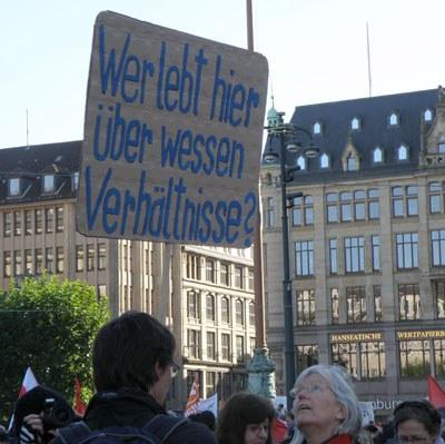 """""""Occupy"""": Der Gier der Banken die rote Karte zeigen?"""