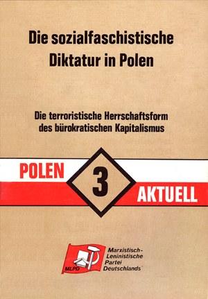 Vor 30 Jahren: Errichtung der sozialfaschistischen Diktatur in Polen