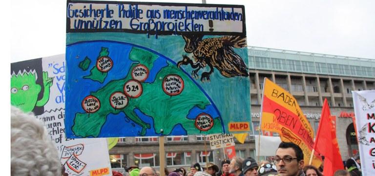 """Protest """"Stuttgart 21"""""""