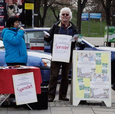 Internationaler Automobilarbeiterratschlag: Erfolgreiche Werbetour durch Bayern