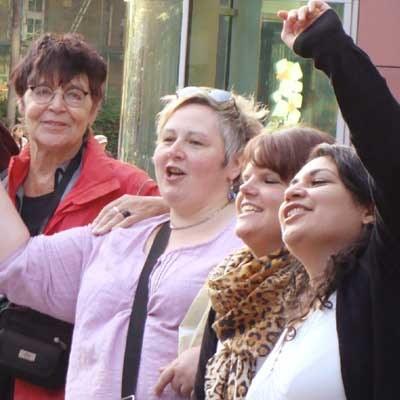 Internationaler Kampftag gegen Krieg und Faschismus – Frauen in der ersten Reihe!