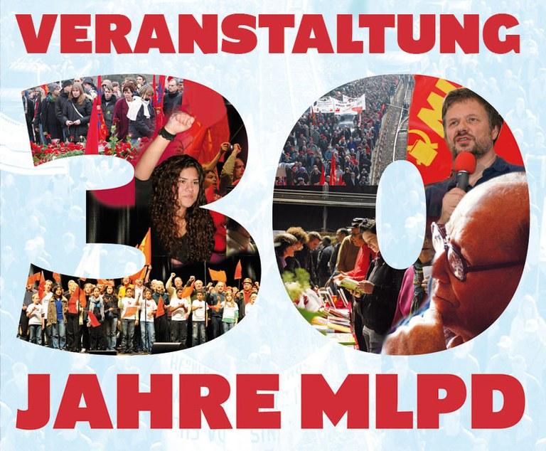 Informationen zur Großveranstaltung - 30 Jahre MLPD