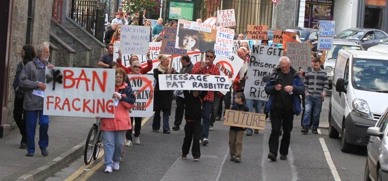 Stopp Fracking in Irland
