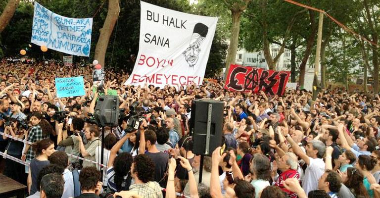 Im Gezi-Park
