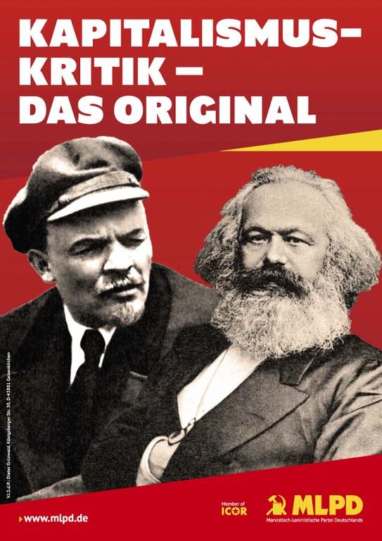 Kapitalismuskritik - das Original
