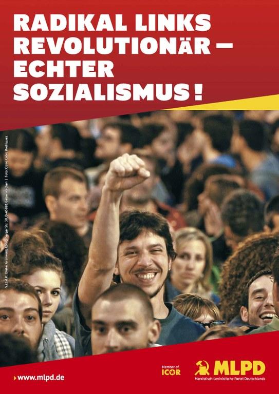 Radikal Links - Revolutionär - echter Sozialismus