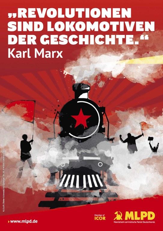 Revolutionen sind Lokomotiven der Geschichte