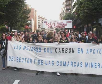 """Kohlefrauen im Kampf"" demonstrierten in Madrid"