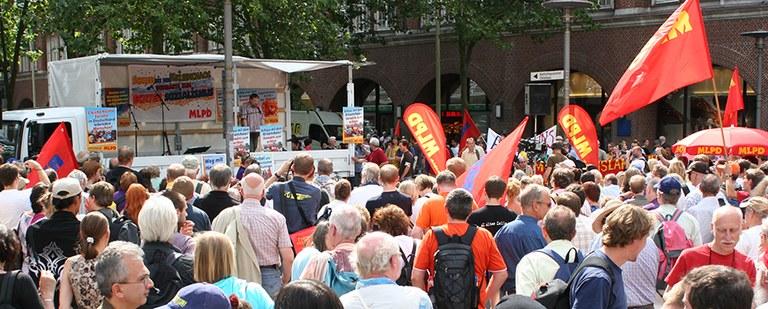 Wahlkampfauftakt Hamburg, 2009