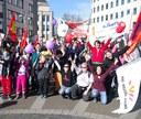 Am 8. März gehörte die Straße der kämpferischen Frauenbewegung