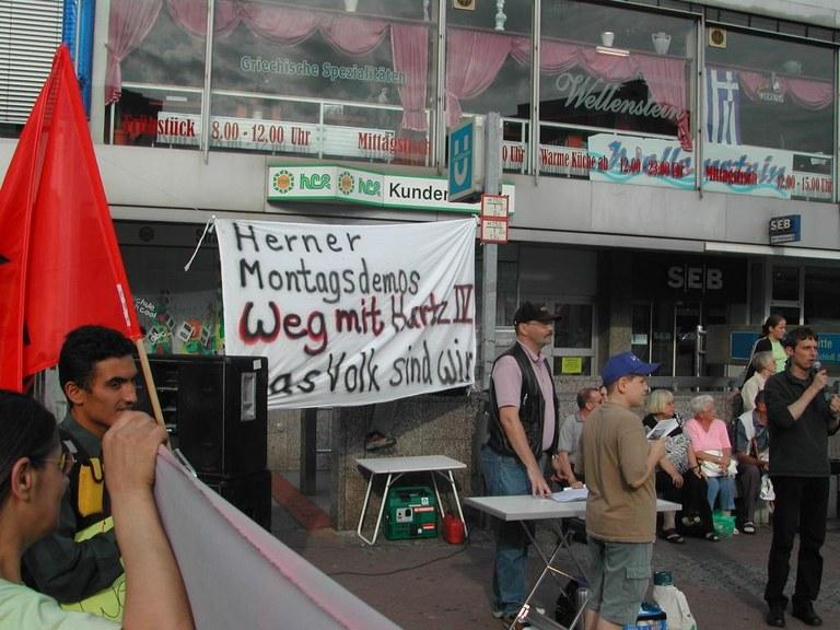 Montagsdemo Herne