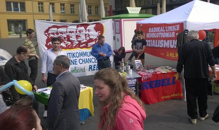 MLPD nach Europawahlkampf: allen Grund zu feiern