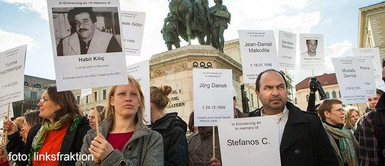 Demo gegen NSU, München, 2013