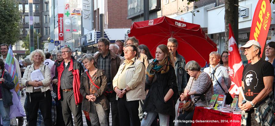 Antikriegstag 2014 in Gelsenkirchen