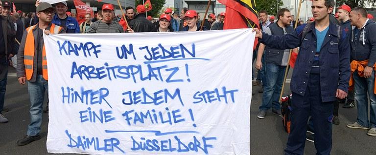 Daimler-Kollegen Düsseldorf