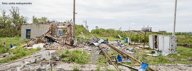 Ukraine: Zerstörung