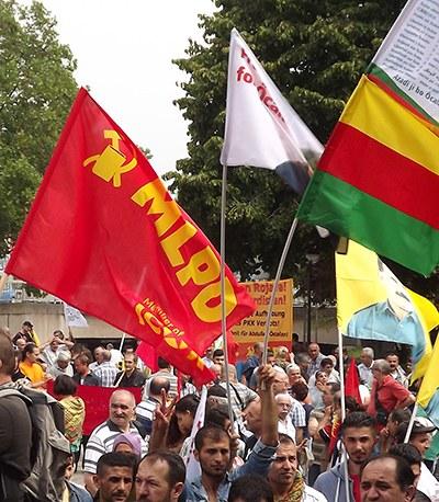 Verhaftet und verurteilt, nur weil sie den kurdischen Befreiungskampf unterstützen