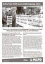 Aufruf der ICOR zum Antikriegstag 2016