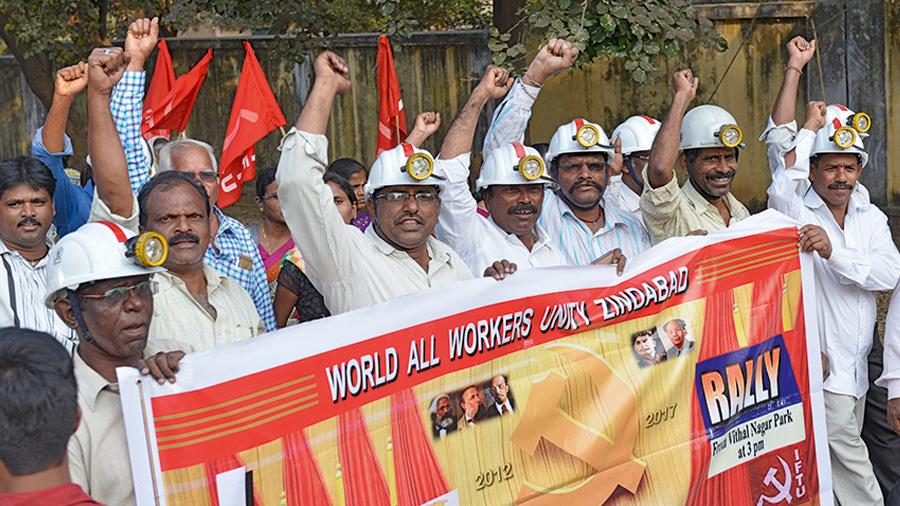 Bergarbeiter – starker Arm der weltweiten Arbeiterbewegung
