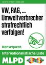 VW-Betrug: Umweltverbrecher endlich bestrafen!