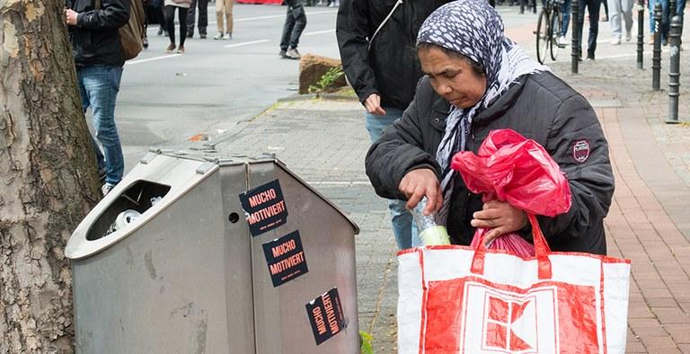 Armut in Deutschland ist weiblich