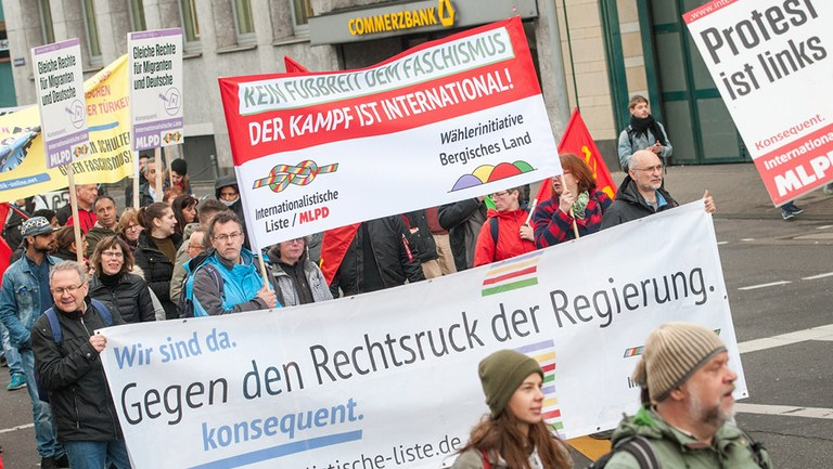 Volker Beck versucht, den Freiheitskampf in Palästina und die Internationalistische Liste/MLPD zu kriminalisieren