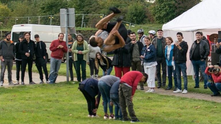 Rock, Pop und Folk - 260 Besucher auf dem rebellischen Jugendkonzert im Nordsternpark