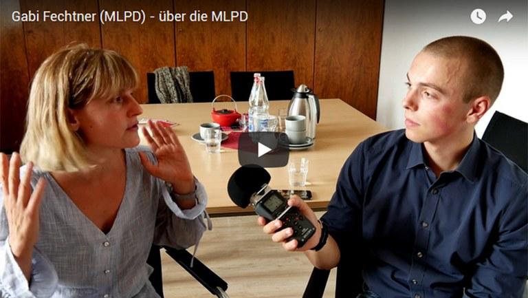 Video: Gabi Fechtner stellt die MLPD vor
