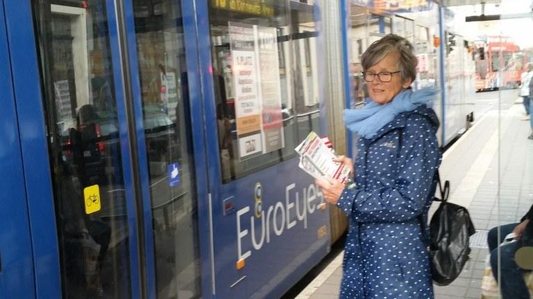 Leipzig: Wahlkampf auf neuen (Straßen-)Bahnen