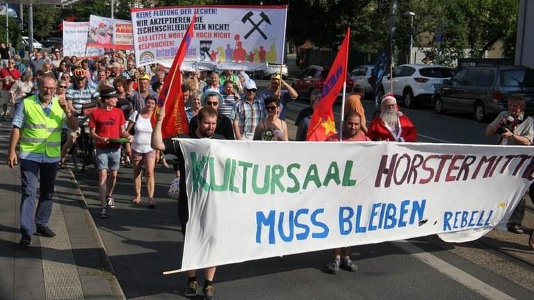 """Dubiose """"Ordnungswidrigkeiten-Anhörung"""" -  Stadt-Bürokratie Gelsenkirchen will Protest gegen die Schließung des Kultursaals Horster Mitte kriminalisieren"""