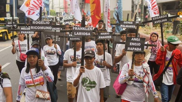 MLPD grüßt die philippinischen Genossinnen und Genossen
