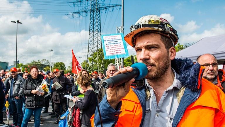 1. Mai 2019: MLPD – Arbeiterpartei der Zukunft!