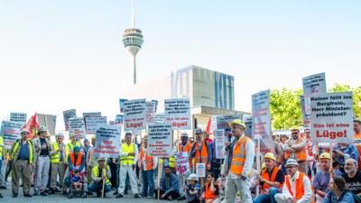 """Bergarbeiterprotest ist berechtigt und keine """"Randale"""". Diskreditiert haben sich allein die bürgerlichen Parteien in ihrer Verachtung von Arbeiterinteressen"""