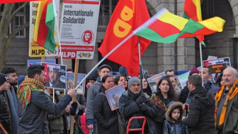 Stoppt den faschistischen Angriffskrieg der türkischen Armee! Hände weg von Rojava!