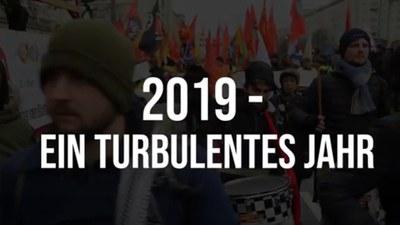 2019 - Ein turbulentes Jahr