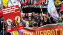Protest gegen die türkische Invasion