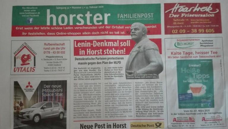 Es ist unwahr, dass Lenin ein Massenmörder war