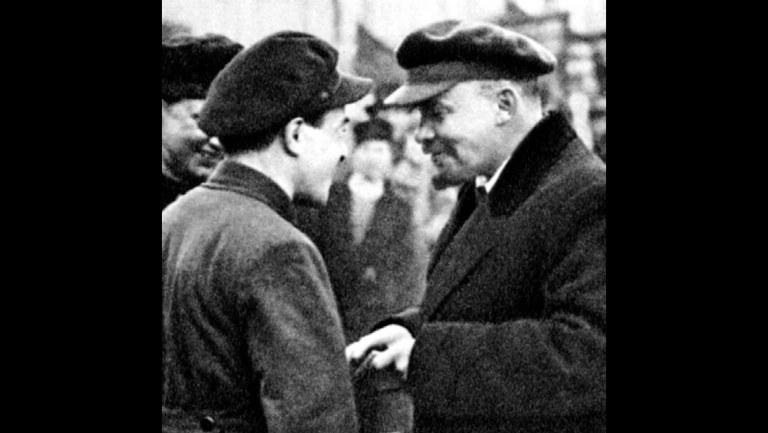 Lenin – Friedenskämpfer