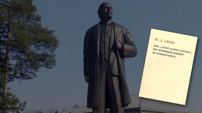 """Lenin hat Antworten auf """"Keine Parteien – keine Parteifahnen"""""""