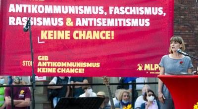 """Jetzt Gas geben in der Spendenkampagne """"Gib Antikommunismus keine Chance!"""""""