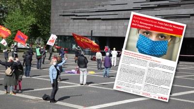 MLPD: Konsequenter Gesundheitsschutz statt Doppelmoral! Kampf der Abwälzung der Krisenlasten auf die Massen!
