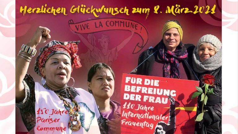 Postkarte zum Internationalen Frauentag - jetzt bestellen!