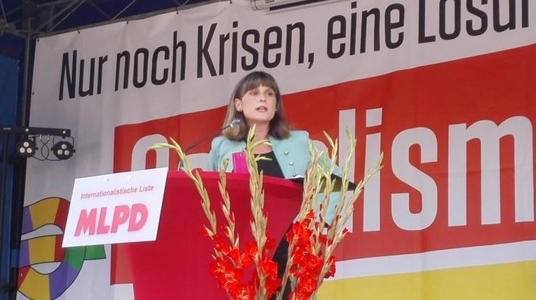 850 ständige Besucher beim Wahlkampfauftakt der Internationalistischen Liste/MLPD in Hannover