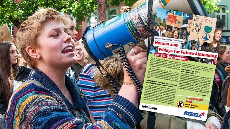 Heraus zum Fridays for Future-Aktionstag am 24. September!