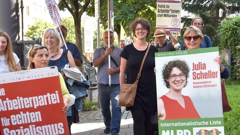 Topthema Sozialismus – Diesmal beide Stimmen für die Internationalistische Liste/MLPD
